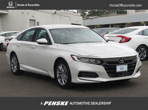 2018 Honda Accord Lx by New 2018 Honda Accord Sedan Lx Cvt Sedan In Escondido