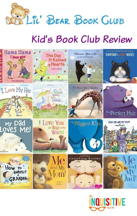 Lil' Bear Book Club For Kids Review  The Inquisitive Mom
