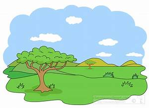 Geography Clipart- savanna-biome-clipart - Classroom Clipart