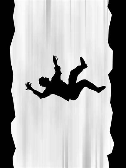 Falling Cartoon Rocks Silhouette Gifs Human Giphy