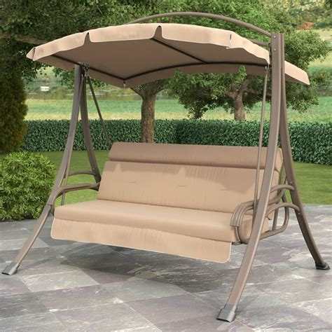 best 20 outdoor swing with canopy ideas on