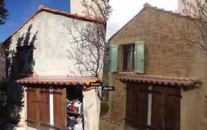 Enduit Exterieur Avant Peinture : rnovation maison extrieur avant aprs elegant bardage bois ~ Premium-room.com Idées de Décoration