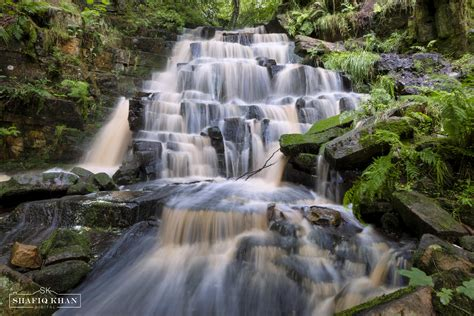 Hatch Brook Waterfall, Chorley, Lancashire, UK [OC] [4989 ...