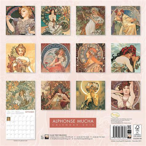alphonse mucha calendars ukposterseuroposters