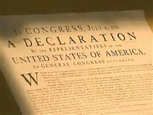 declaration of independence assignment