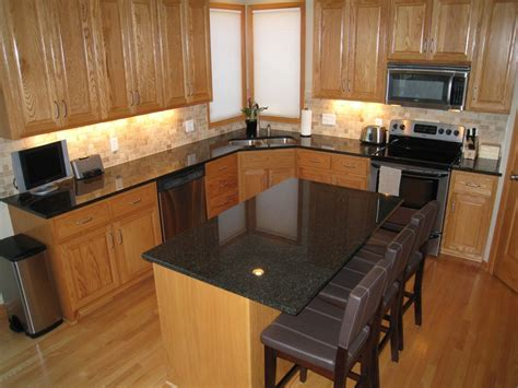 countertop colors for light oak cabinets dark grey countertops with oak cabinets google search