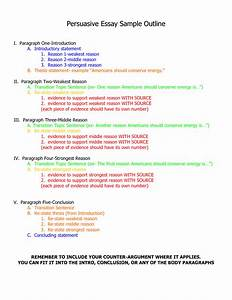 Persuasive Essay Outline Examples Ghost Writer For College Papers  Persuasive Essay Topics And Examples