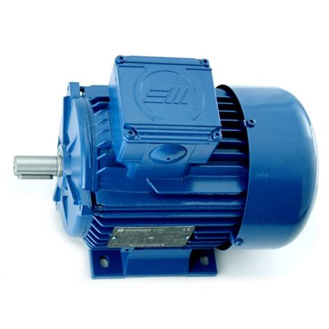 Motor Electric 220v 4kw by Marelli Ie2 3kw 4hp 2 Pole 230v 400v 3ph B3 Foot Mount