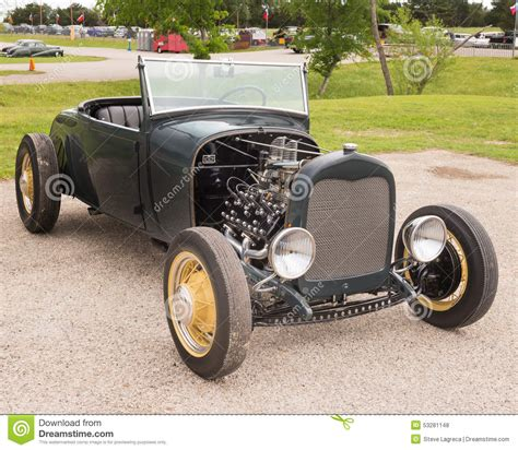leopard 6 litre roadster rod at the lonestar round up editorial stock photo