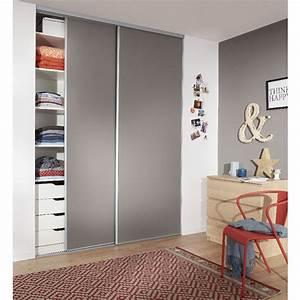 Portes Coulissantes Placard : porte coulissante placard hauteur 180 cm patcha ~ Dallasstarsshop.com Idées de Décoration