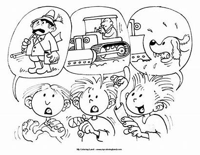 Coloring Pages Experiment Boys Engineering Science Rascals