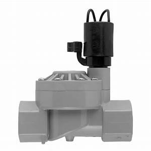 Orbit Valve - 1 U0026quot  Automatic Inline Lawn Sprinkler System Irrigation Valve