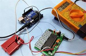Simple Digital Voltmeter Circuit Diagram Using Icl7107