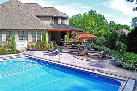 Backyard Design In Avon Lake Moscarino