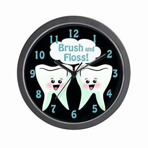 Cool dentist office wall clock by cool dentist office clocks for Cool office clocks