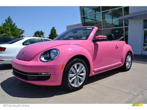 pink convertible cars classic volkswagen beetle interior image 329