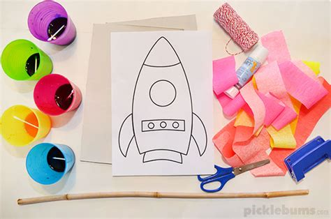 Make A Flying Rocket!
