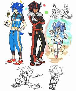 Sonic characters as humans on Pinterest   Sonic The ...