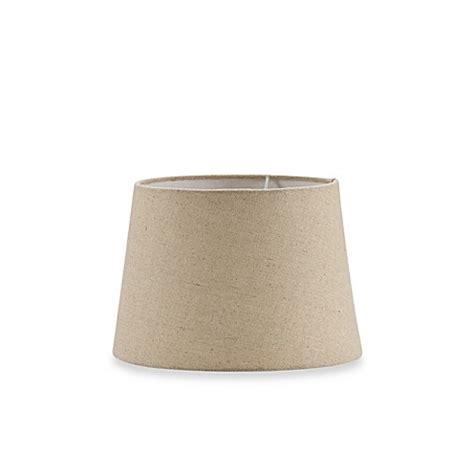 small drum l shade mix match small 10 inch hardback burlap drum l shade