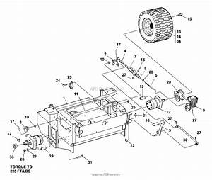 Bunton  Bobcat  Ryan 642228  61 Side Discharge Parts Diagram For Brakes