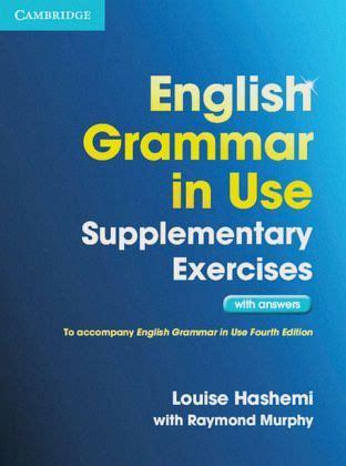 english grammar   supplementary exercises book