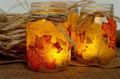 Kuerbis Dekorationsideenhalloween Kerzenleuchter Mit Papier by Inspirierende Ideen F 252 R Herbstbasteln Mit Kindern