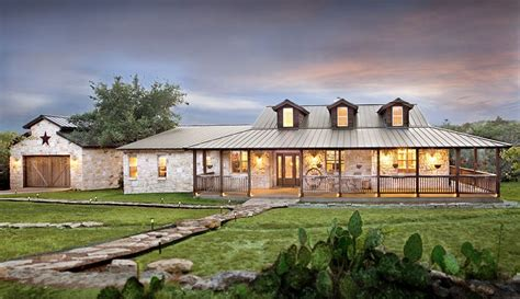 ranch architecture style homes on hill country homes