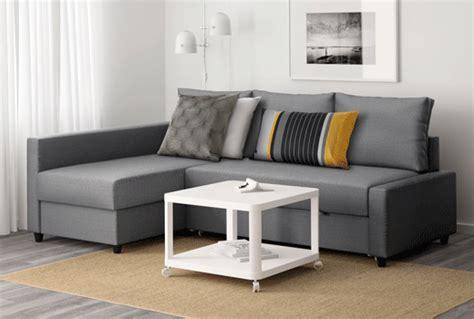 canapé convertible petit espace divano letto soggiorno ikea