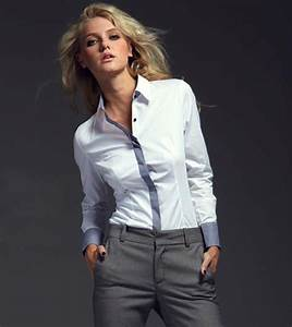 The gallery for --> White Formal Shirts For Women