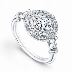 Silver diamond wedding rings for women vintage wedding for Vintage style wedding rings for women