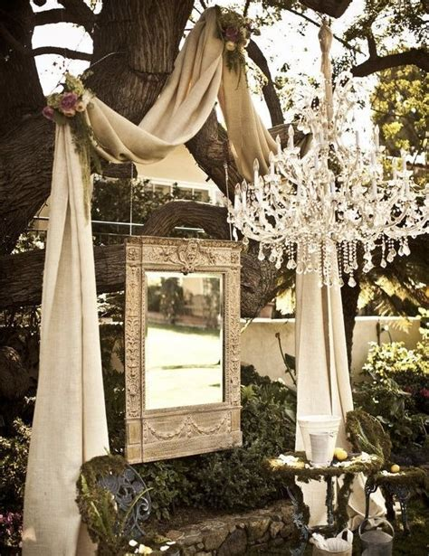 Tree Backdrop For Wedding by This Ceremony Backdrop Notice It S To An