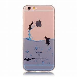 Coque Transparente Iphone 6 : coque iphone 6 6s transparente jeu de pingouins ~ Teatrodelosmanantiales.com Idées de Décoration