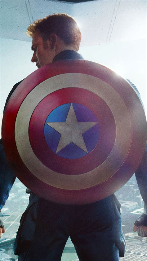 chris evans captain america shield  ultra hd mobile