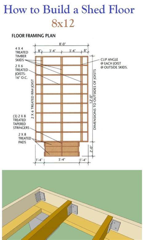 build  shed floor storage shed plans