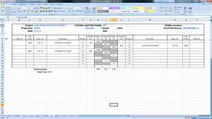 export panel schedules to excel bimarabia With electrical panel schedule software