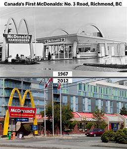 Canada's first McDonalds: No. 3 Road, Richmond : vancouver