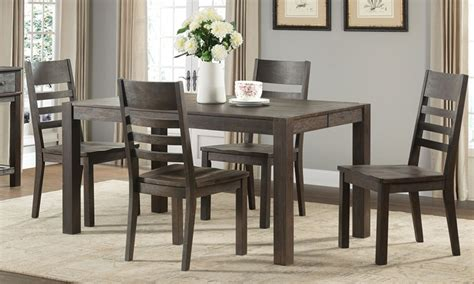 Set Salem salem 5 solid acacia dining set haynes furniture
