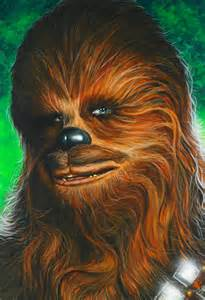 Star Wars Chewbacca Art