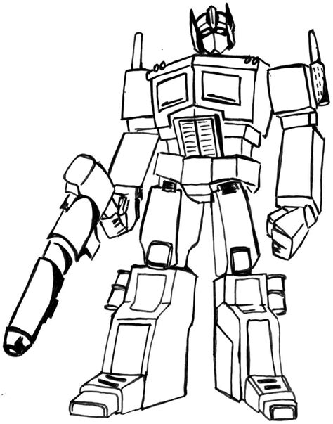 transformer coloring page transformers coloring pages optimus prime coloring home