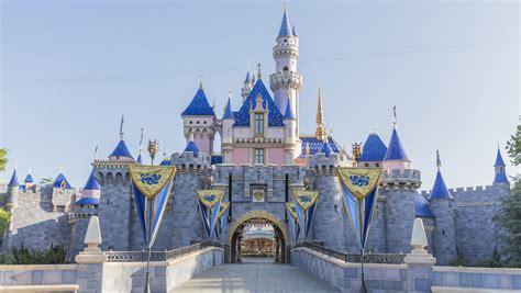 sleeping beauty castle  disneyland park reopens