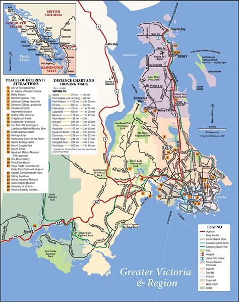 city map victoria bc swoiceme