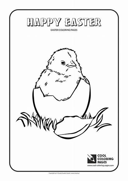 Coloring Easter Chicken Pages Cool Educational