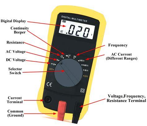 Digital Multimeter Working Principle Electrical Academia