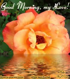 Good Morning, My Love Pictures, Photos, and Images for