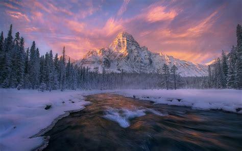 Lovely Alberta Banff Winter Wallpapers  Lovely Alberta