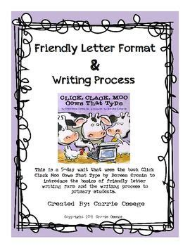 friendly letter format writing process