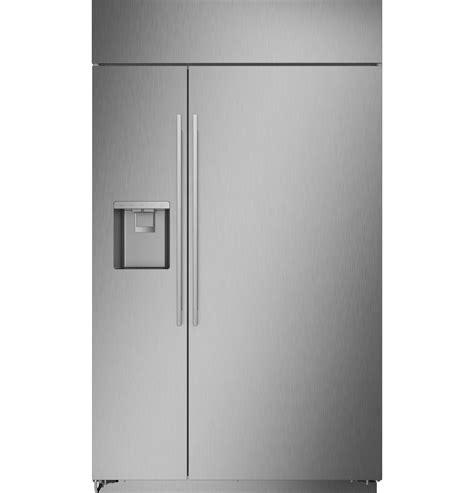 zissdnss monogram  smart built  side  side refrigerator  dispenser monogram