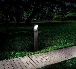 Borne Lumineuse Exterieur : borne d 39 ext rieur bird noir h65cm faro luminaires nedgis ~ Teatrodelosmanantiales.com Idées de Décoration