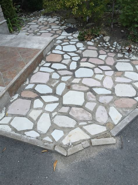 flagstone patio mortar joints repairing loosen flagstone joints polymeric sand vs mortar vs envirobond pro construction
