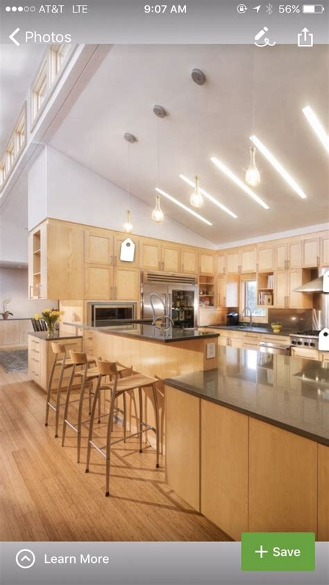 high ceiling kitchen cabinets 25 best ideas about vaulted ceiling kitchen on 4207